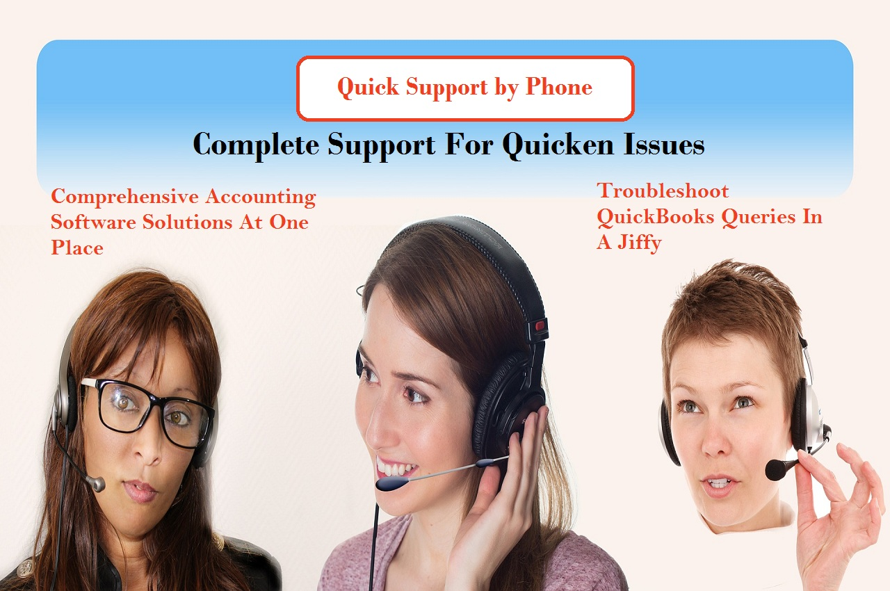 Quick Support Quicken by Phone 1-800-242-0792 | Technical